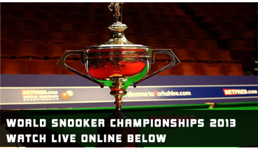 watch world championship snooker live